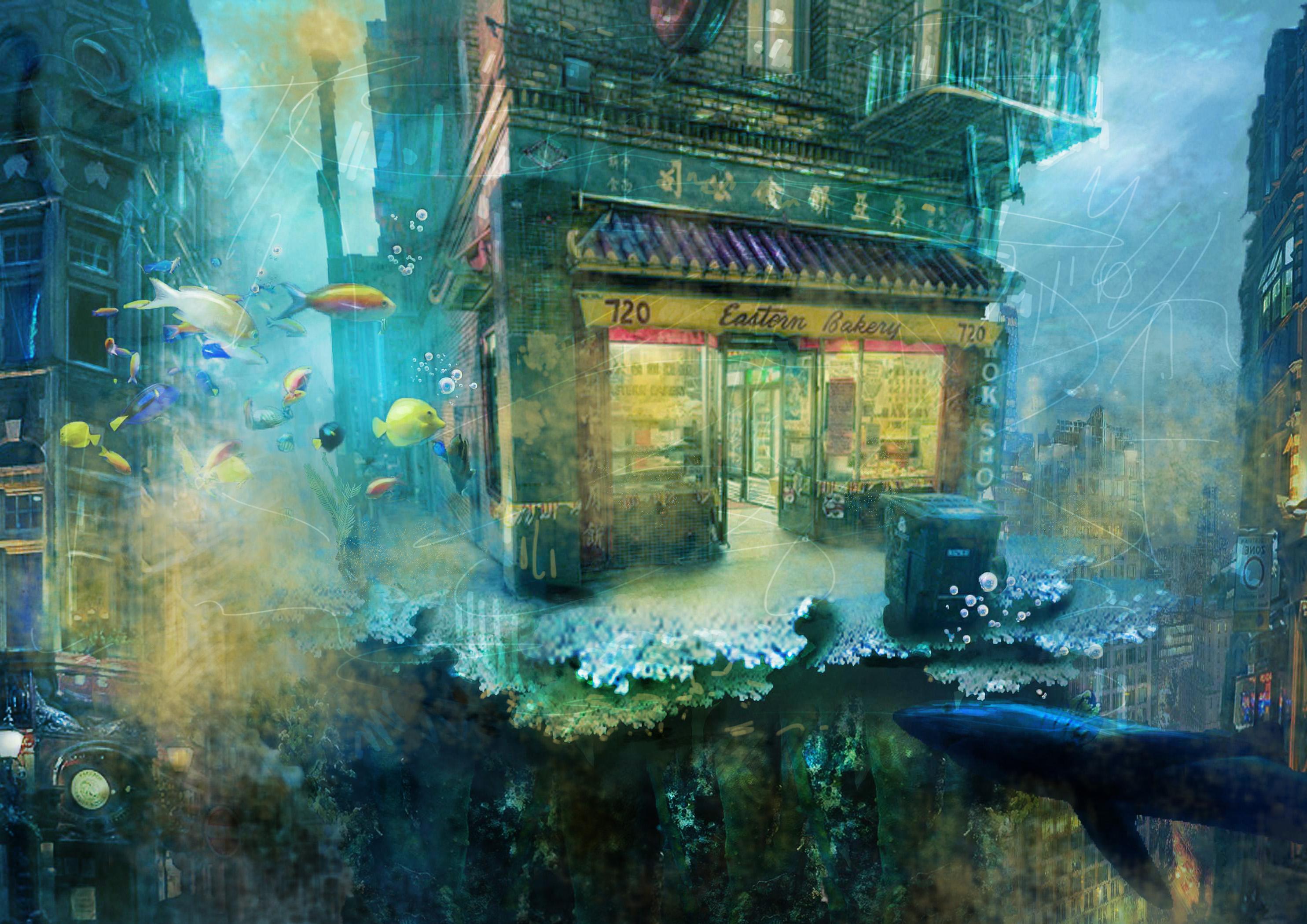 underwater city 1